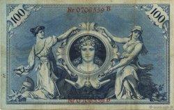100 Mark ALLEMAGNE  1896 P.018 TTB