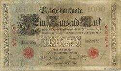1000 Mark ALLEMAGNE  1898 P.021 TB+