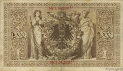 1000 Mark ALLEMAGNE  1898 P.021 TTB