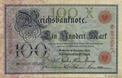 100 Mark ALLEMAGNE  1905 P.024a TB+