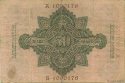50 Mark ALLEMAGNE  1906 P.026b TB+