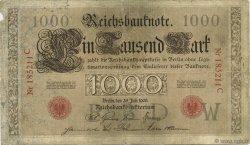 1000 Mark ALLEMAGNE  1906 P.027 B+