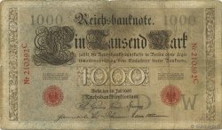 1000 Mark ALLEMAGNE  1906 P.027 TB