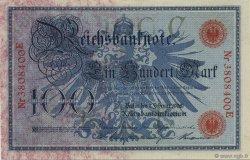 100 Mark ALLEMAGNE  1908 P.033a pr.NEUF