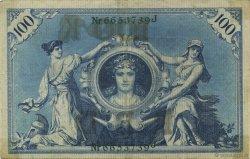 100 Mark ALLEMAGNE  1908 P.034 TTB