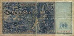 100 Mark ALLEMAGNE  1908 P.035 B+