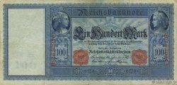 100 Mark ALLEMAGNE  1908 P.035 TTB