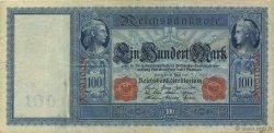100 Mark ALLEMAGNE  1910 P.042 TTB+