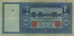 100 Mark ALLEMAGNE  1910 P.042 TB