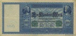 100 Mark ALLEMAGNE  1910 P.043 TTB+