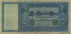 100 Mark ALLEMAGNE  1910 P.043 TTB