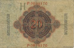 20 Mark ALLEMAGNE  1914 P.046b TTB