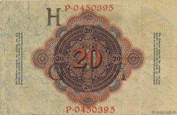 20 Mark ALLEMAGNE  1914 P.046b TTB+
