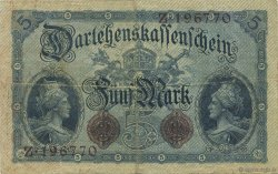5 Mark ALLEMAGNE  1914 P.047a