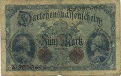 5 Mark ALLEMAGNE  1914 P.047b B