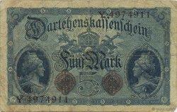 5 Mark ALLEMAGNE  1914 P.047b TB