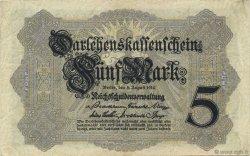 5 Mark ALLEMAGNE  1914 P.047b TTB
