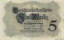5 Mark ALLEMAGNE  1914 P.047b TTB+