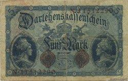 5 Mark ALLEMAGNE  1914 P.047c pr.TB