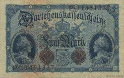 5 Mark ALLEMAGNE  1914 P.047c TTB