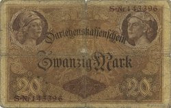 20 Mark ALLEMAGNE  1914 P.048a B