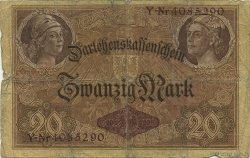20 Mark ALLEMAGNE  1914 P.048b B