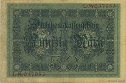 50 Mark ALLEMAGNE  1914 P.049a TTB