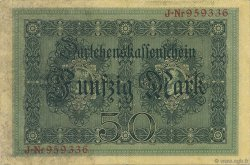 50 Mark ALLEMAGNE  1914 P.049a SUP