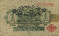 1 Mark ALLEMAGNE  1914 P.050 B à TB