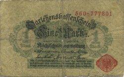 1 Mark ALLEMAGNE  1914 P.051 B