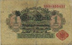 1 Mark ALLEMAGNE  1914 P.051 TB