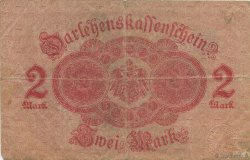 2 Mark ALLEMAGNE  1914 P.054 TB