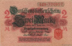 2 Mark ALLEMAGNE  1914 P.054 SUP