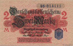 2 Mark ALLEMAGNE  1914 P.055 SUP