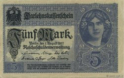 5 Mark ALLEMAGNE  1917 P.056a SUP+