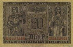 20 Mark ALLEMAGNE  1918 P.057 SPL