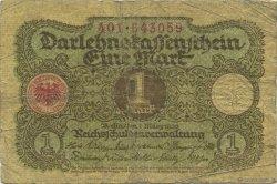 1 Mark ALLEMAGNE  1920 P.058 B