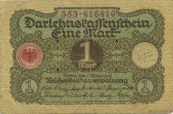 1 Mark ALLEMAGNE  1920 P.058 TB