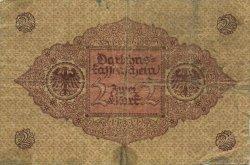 2 Mark ALLEMAGNE  1920 P.059 TB
