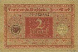 2 Mark ALLEMAGNE  1920 P.059 TTB