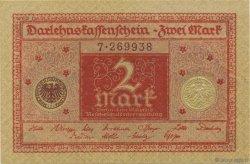 2 Mark ALLEMAGNE  1920 P.059 pr.NEUF