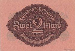 2 Mark ALLEMAGNE  1922 P.062 pr.NEUF