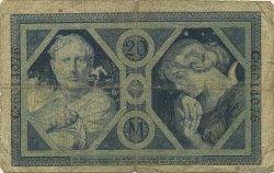 20 Mark ALLEMAGNE  1915 P.063 B