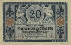 20 Mark ALLEMAGNE  1915 P.063 SUP