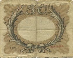 50 Mark ALLEMAGNE  1918 P.065 B