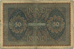 50 Mark ALLEMAGNE  1919 P.066 B à TB