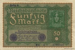 50 Mark ALLEMAGNE  1919 P.066 SUP+
