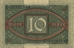 10 Mark ALLEMAGNE  1920 P.067a pr.NEUF