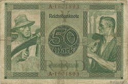 50 Mark ALLEMAGNE  1920 P.068 TB