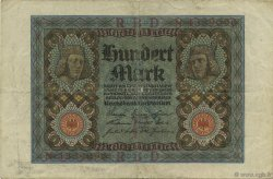 100 Mark GERMANY  1920 P.069a VF